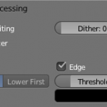 Blender export edges